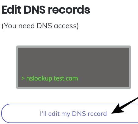 اثبات ملكية الموقع الالكترونى من خلال DNS للربح من متصفح brave برنامج الناشرين1